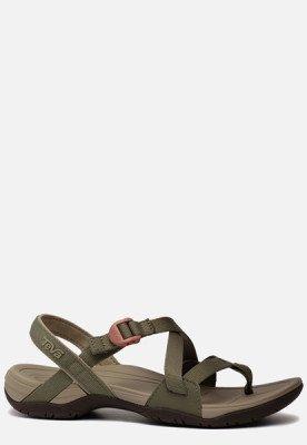 Teva Teva Ascona Cross sandalen groen