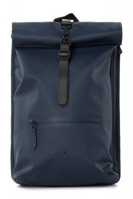 Rains Rains Roll Top Backpack Blue
