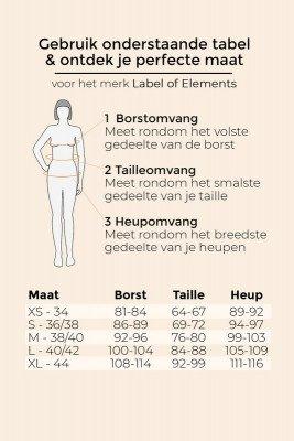 Label Of Elements Label Of Elements Blouse Zwart Ciara