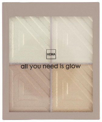 HEMA Highlight Palette - All You Need Is Glow