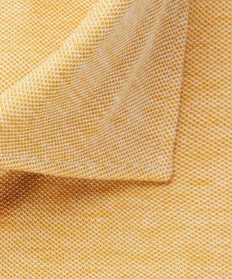 Profuomo Profuomo heren geel knitted overhemd Originale