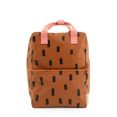 Sticky Lemon Sticky Lemon Large Backpack Sprinkles Syrup Brown + Bubble Pink
