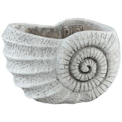 Ptmd cement shell licht grijs pot s