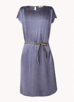 Alchemist alchemist Maris mini jurk van satijn met strikceintuur
