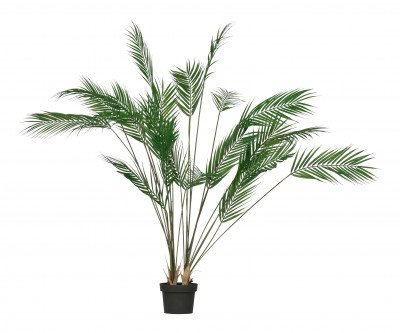 WOOOD WOOOD Kunstplant 'Palm', kleur Groen