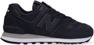 New Balance Blauwe New Balance Lage Sneakers Wl574