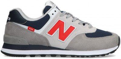 New Balance Grijze New Balance Lage Sneakers Ml574