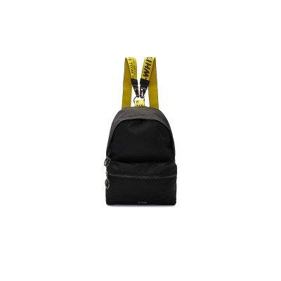 Off-White Off-White Backpack Nylon Mini Black Yellow