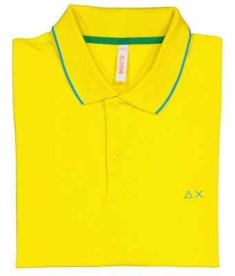 SUN68 SUN68 A31110-23 Heren Poloshirt