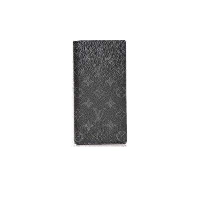 Louis Vuitton Louis Vuitton Wallet Brazza Monogram Eclipse Organizer Black