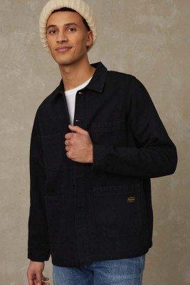 Kings of indigo Kings of Indigo - DUNCAN jacket Men - Black