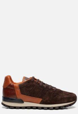 Van Lier Van Lier Rimini sneakers bruin