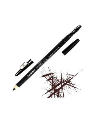 The BrowGal The BrowGal - Skinny Eyebrow Pencil Black 01 - 1,2 gr.