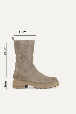 Shoecolate Shoecolate Chelsea boot Taupe 8.21.04.300