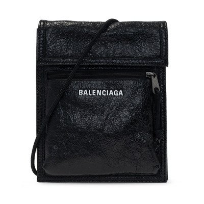 Balenciaga Schoudertas met logo