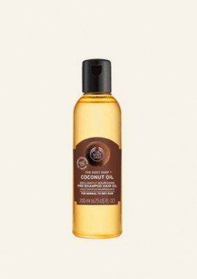The Body Shop NL Coconut Oil Brilliantly Nourishing Pre-shampoo Hair Oil 200 ML