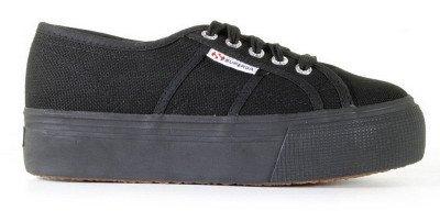 Superga Superga 2790 - AcotW-996 Zwart Damessneakers