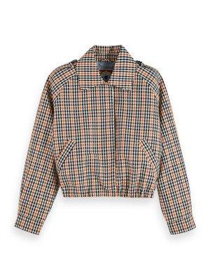 Maison Scotch Maison Scotch Short jacket in check