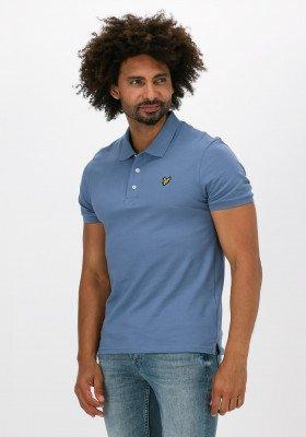 Lyle en Scott Grijze Lyle & Scott Polo Plain Polo Shirt