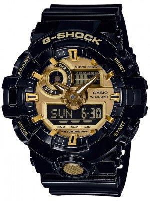 G-SHOCK G-SHOCK GA-710GB-1AER zwart