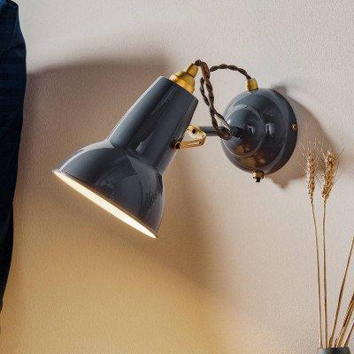 Anglepoise Anglepoise Original 1227 Brass wandlamp grijs