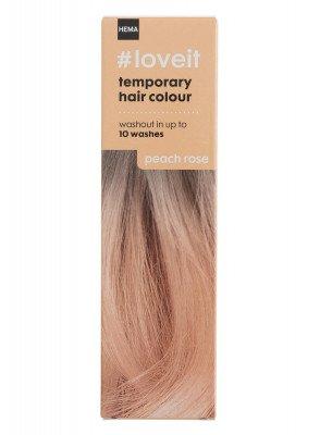 HEMA Tijdelijke Haarkleuring Peach Rose (lichtroze)
