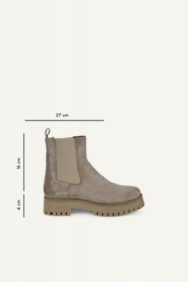 Shoecolate Shoecolate Chelsea boot Taupe 8.20.08.283