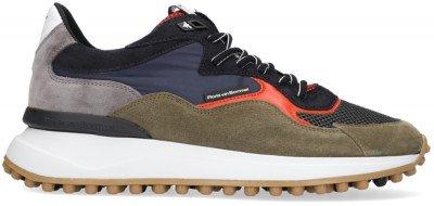 Floris van Bommel Groene Floris Van Bommel Lage Sneakers 16339