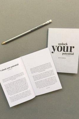 Marlies Dekkers Unlock your potential 3-year journal   silver - div