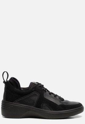 ECCO Ecco Soft 7 Wedge sneakers zwart