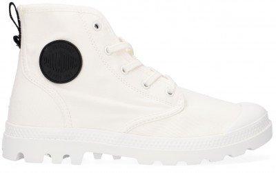Palladium Witte Palladium Hoge Sneaker W Pampa Hi Twill