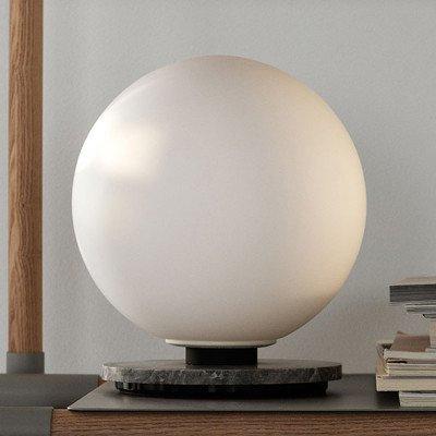 Menu Menu TR Bulb DTW tafellamp 22cm marmer/opaal mat