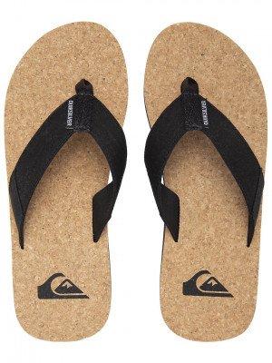 Quiksilver Quiksilver Molokai Abyss Natural Sandals zwart