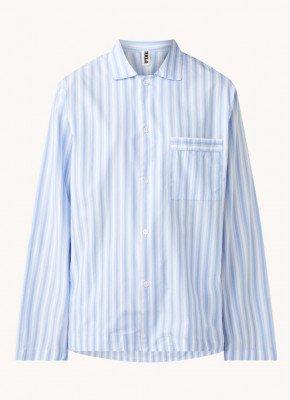 TEKLA TEKLA Pyjamatop met streepprint