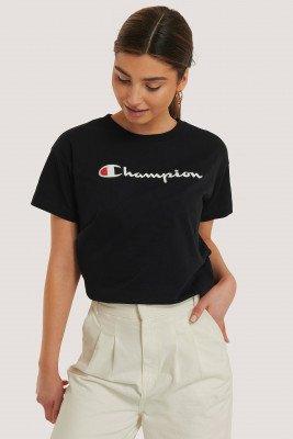 Champion Crewneck T-Shirt - Black