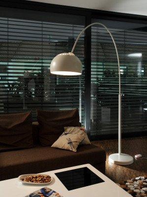 Artistiq Living Artistiq Vloerlamp 'Christie' 195cm, kleur Wit