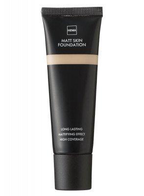 HEMA Matt Skin Foundation Beige 01 (bruin)