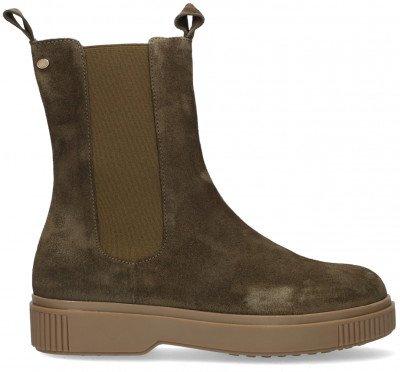 Fred de la Bretoniere Groene Fred de la Bretoniere Chelsea Boots 181010105