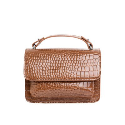 Veganbags Hvisk Renei Croco Tawny Brown