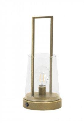 Light en Living Light & Living Tafellamp 'Calry' LED, kleur Goud