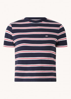 Tommy Hilfiger Tommy Hilfiger T-shirt van biologisch katoen met streepprint