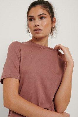 NA-KD Basic NA-KD Basic T-Shirt - Pink