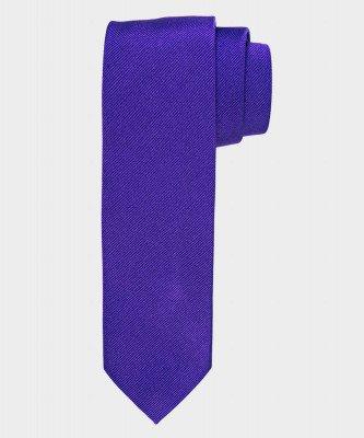 Michaelis Michaelis heren zijden stropdas paars