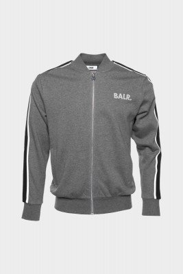 BALR. Taped Track Jacket  Heather