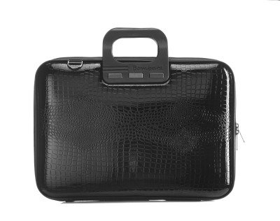 Bombata Bombata Shiny Cocco 15,6 inch Laptoptas Black