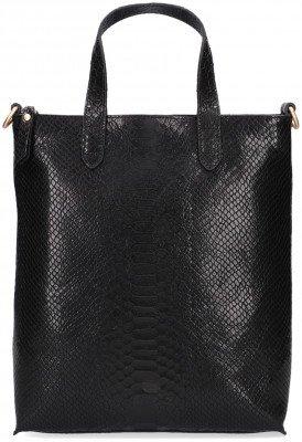 Fred de la Bretoniere Zwarte Fred de la Bretoniere Shopper Shoppingbag L