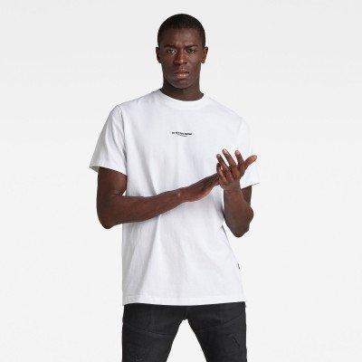 G-Star RAW Center Chest Logo GR Loose T-Shirt - Wit - Heren