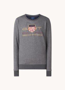 Gant Gant Sweater met logoborduring