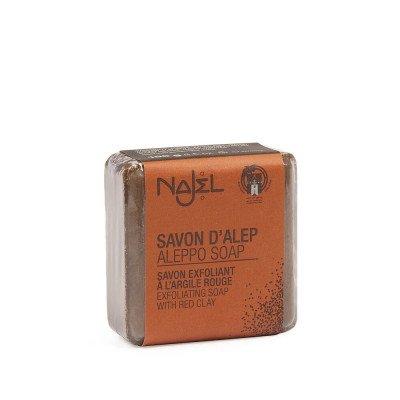 Najel Alep Zeep met Rode Klei - 100 gram Najel