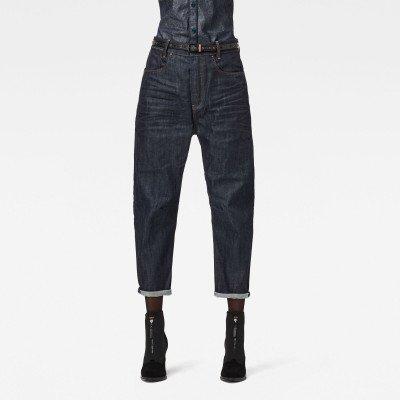 G-Star RAW C-Staq 3D Boyfriend Cropped Jeans C - Donkerblauw - Dames